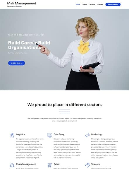 mak management webtiks