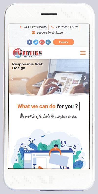 web design company - webtiks